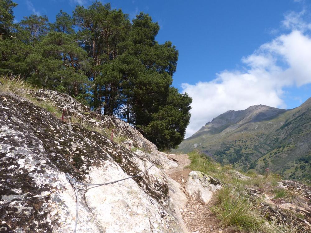parcours 2 via du rocher du Bez, la sortie de la via