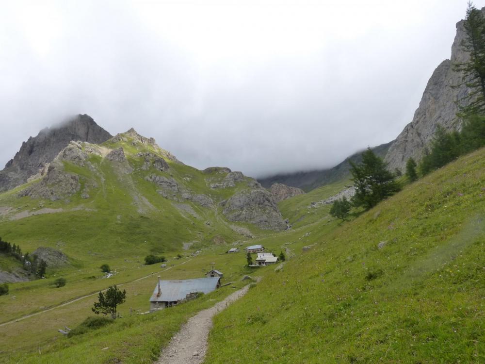 Les chalets de l' Alpe du Lauzet