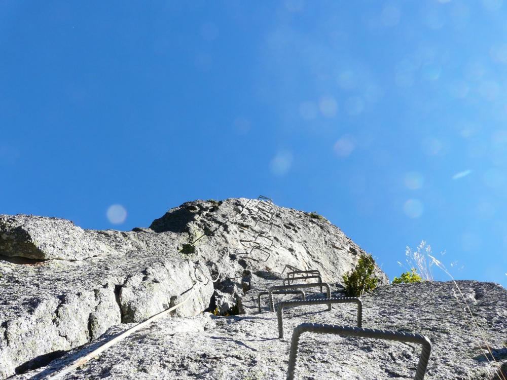 Encore un ... petit effort ! dans le roc d'Escaldès