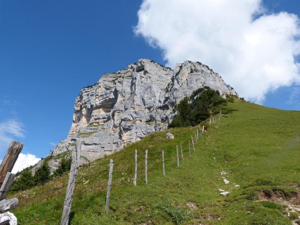 Col de l' Alpette, extremité sud du Mont Granier