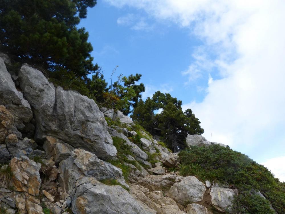Quelques passages rocheux encore !