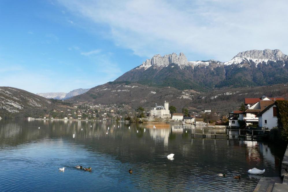 Duingt et lac d' Annecy