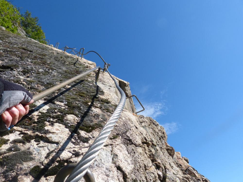le sommet de La Chal n' est plus très loin !