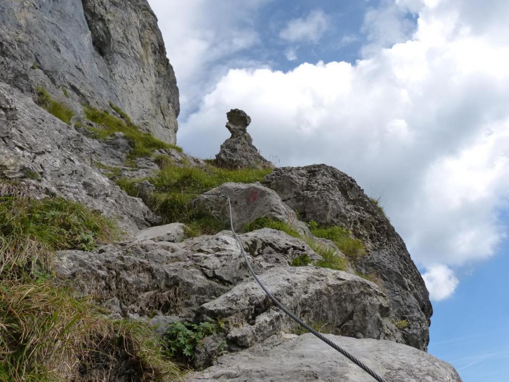 Golet de la Trouye, via d'Ugine-Mont Charvin