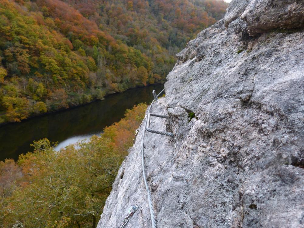 Atelier 3, belle vue sur la Dordogne, dans la via du même nom