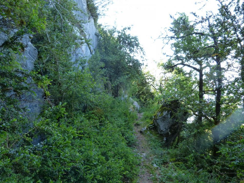 sous le roc de Tormery juste avant la montée ferrée !