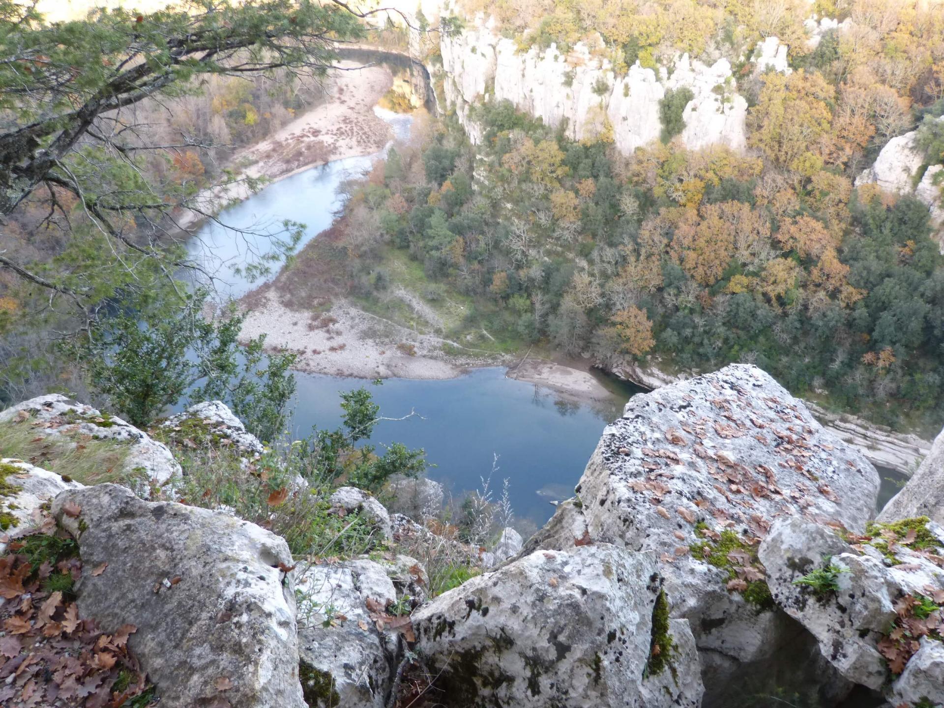 randonnée les gorges du Chassézac (Ardèche)