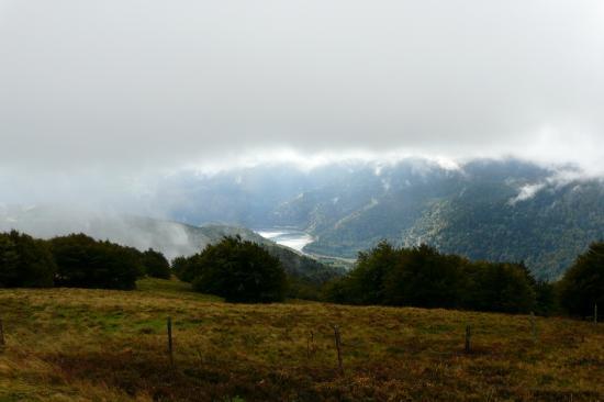 Lac de Kruth depuis la route des crêtes (vosges)