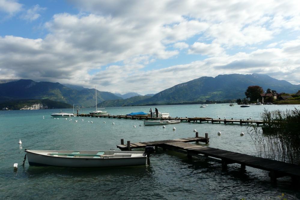 lac d' Annecy à Sevrier