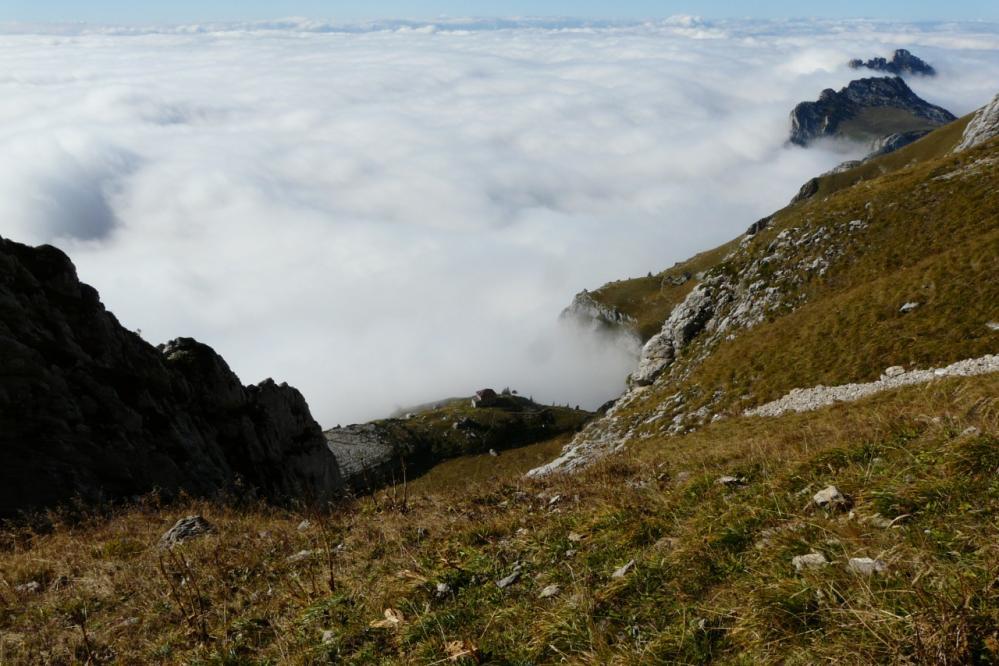 Mer de nuages sur le lac d' Annecy