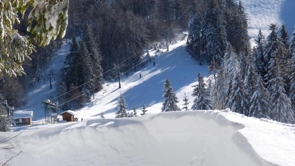 le télé ski des Goulets
