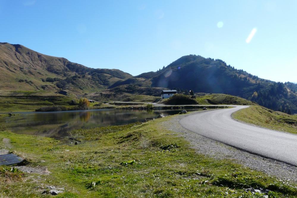 le lac du col de Joux Plane