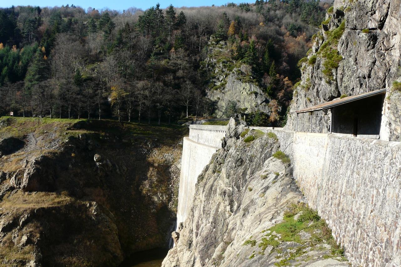 Randonnée barrage de Planfoy