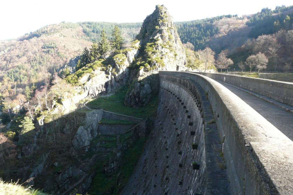 le barrage de Planfoy sous un autre angle