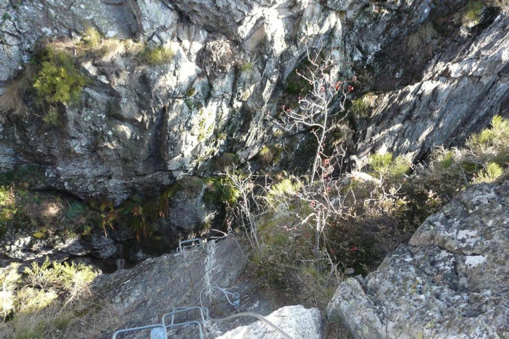 Sortie du mur vertigineuse (via des Juscles)