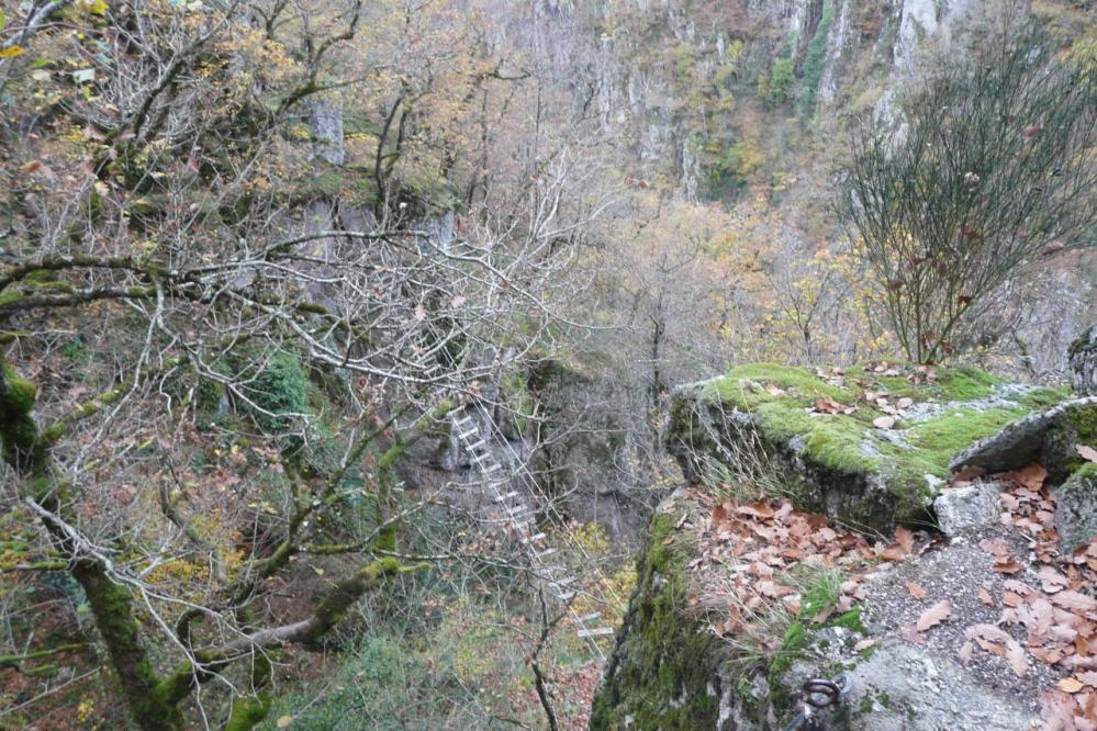 Nouvelle passerelle qui se profile à la via des bois de Balthuergue