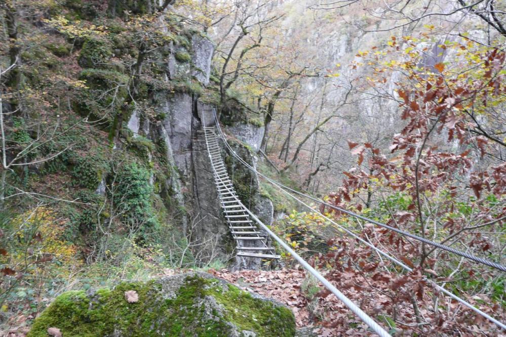 Le pont du Frisson (Ste geneviève sur Argence)