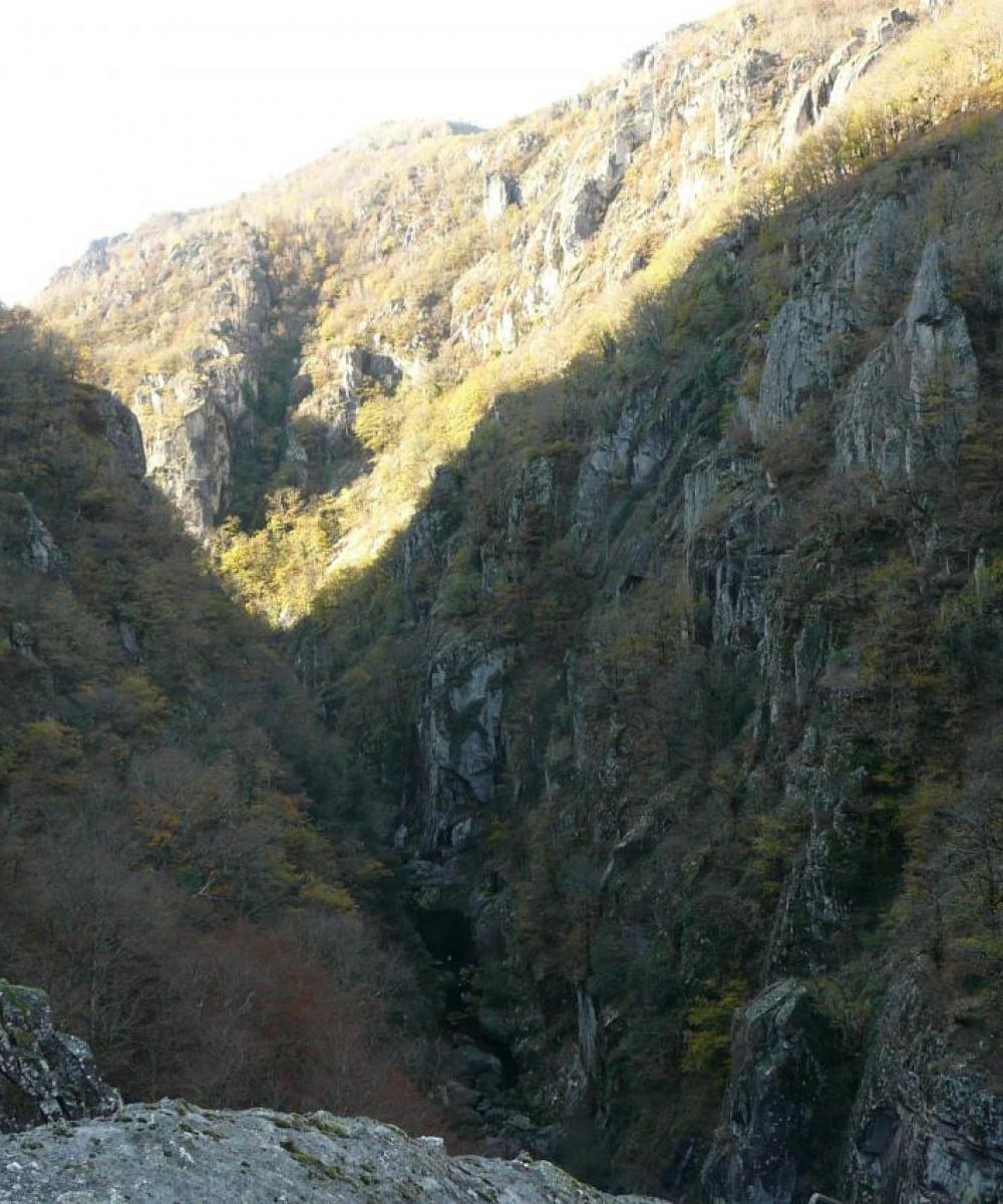 Belle vue sur les gorges de la Truyère