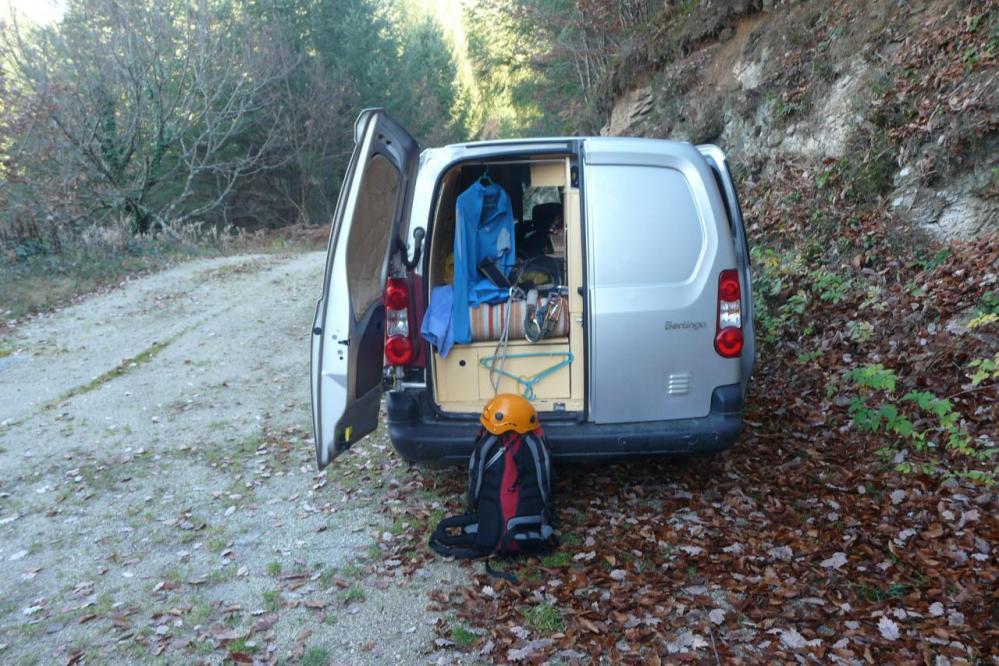 Parking en cul de sac de la via du bois de Balthuergue