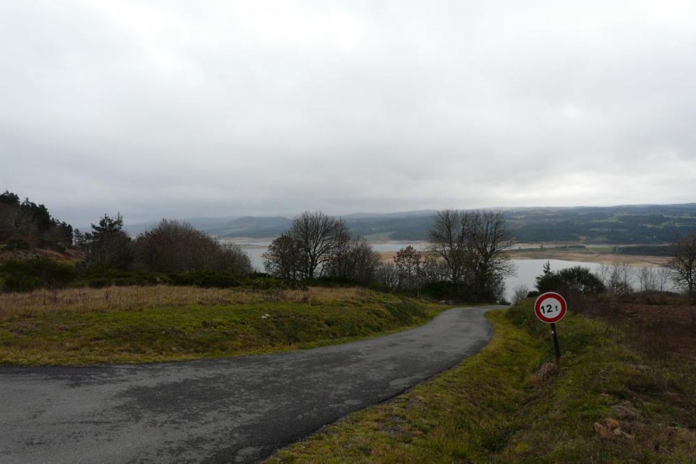 Le lac de Naussac après Fontanes