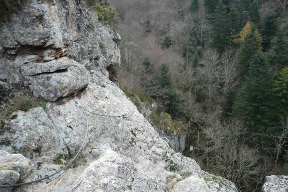 la noire au rocher de la Miramande