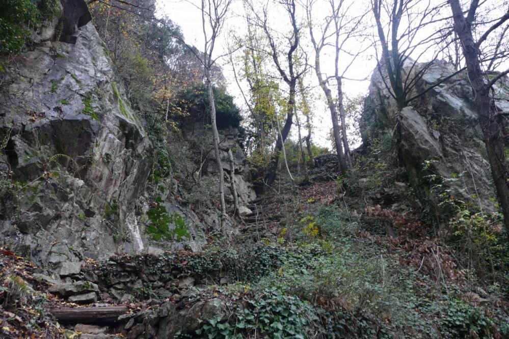 La descente vers l' Ardèche et le départ de la via