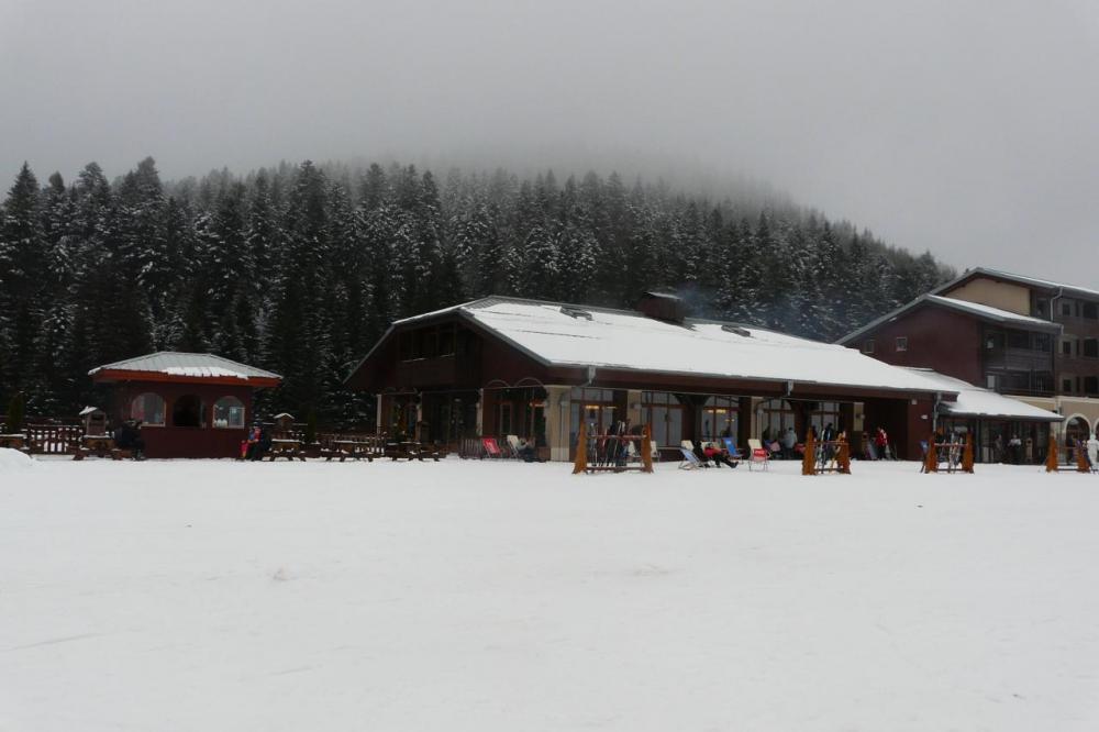 bâtiment d' accueil de la station de ski de La Bresse