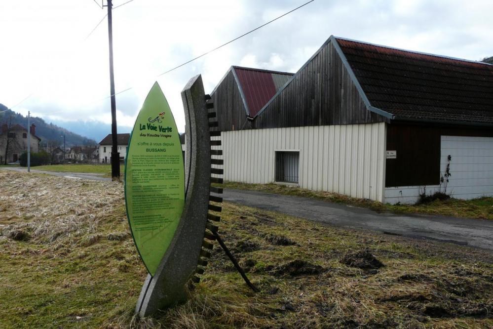 la pancarte symbole de la voire verte