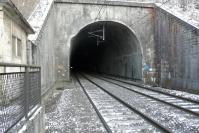 le Tunnel sncf en direction de Foug