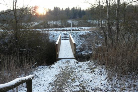 dernier pont avant le canal