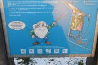panneaux d' information au port de Lay St Rémy