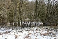 le trou des glanes en bout de vallon de la bouvade