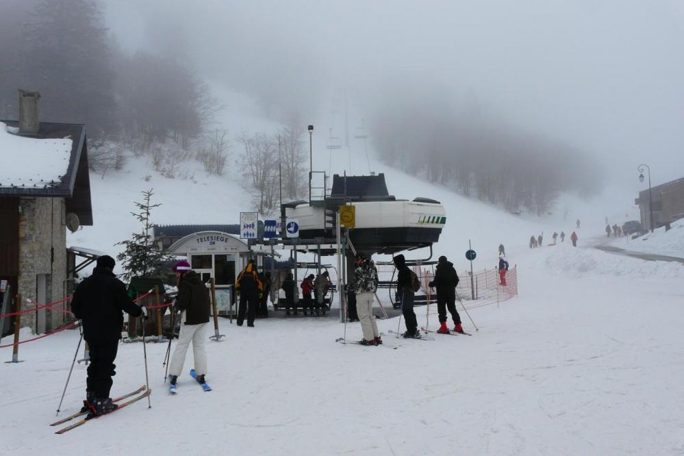 Station de ski du col de Rousset (Die - Drôme)