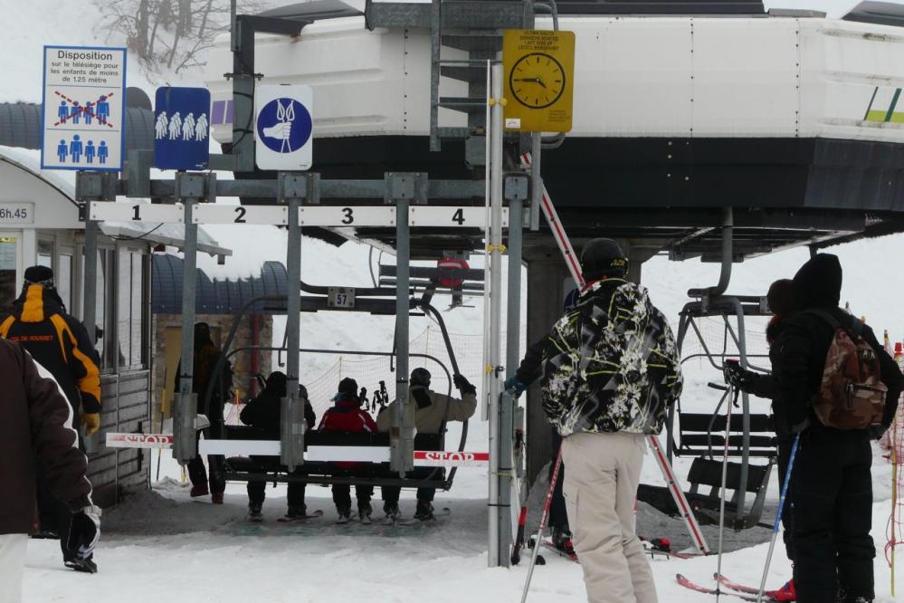 station de ski du Rousset
