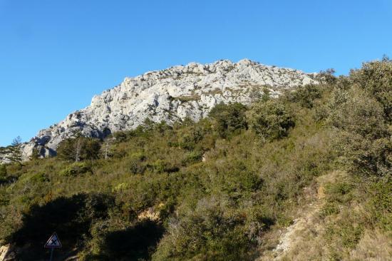 le rocher des vias ferratas de St Paul de Fenouillet