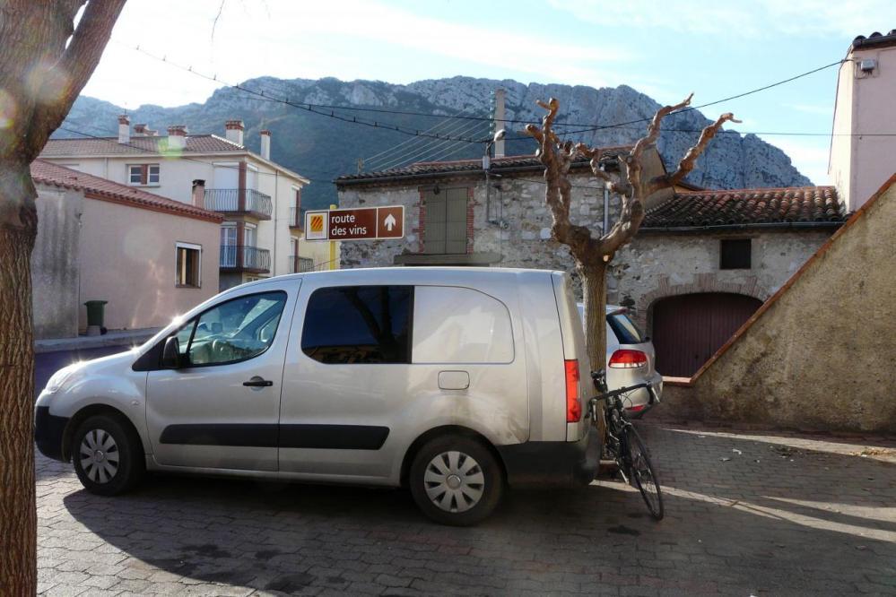 préparation du cycliste pour ... la route des vins !