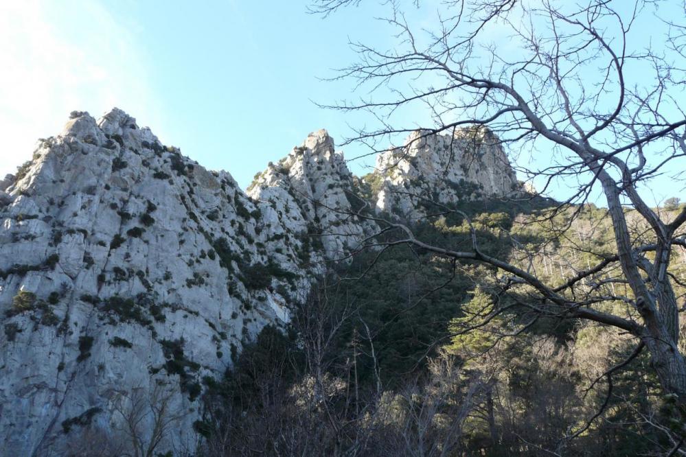 les rochers des Fenouilledes (via ferrata)