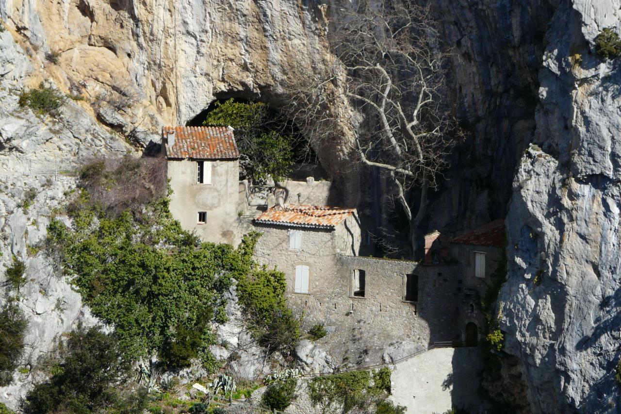 l' abbaye des gorges de Galamus