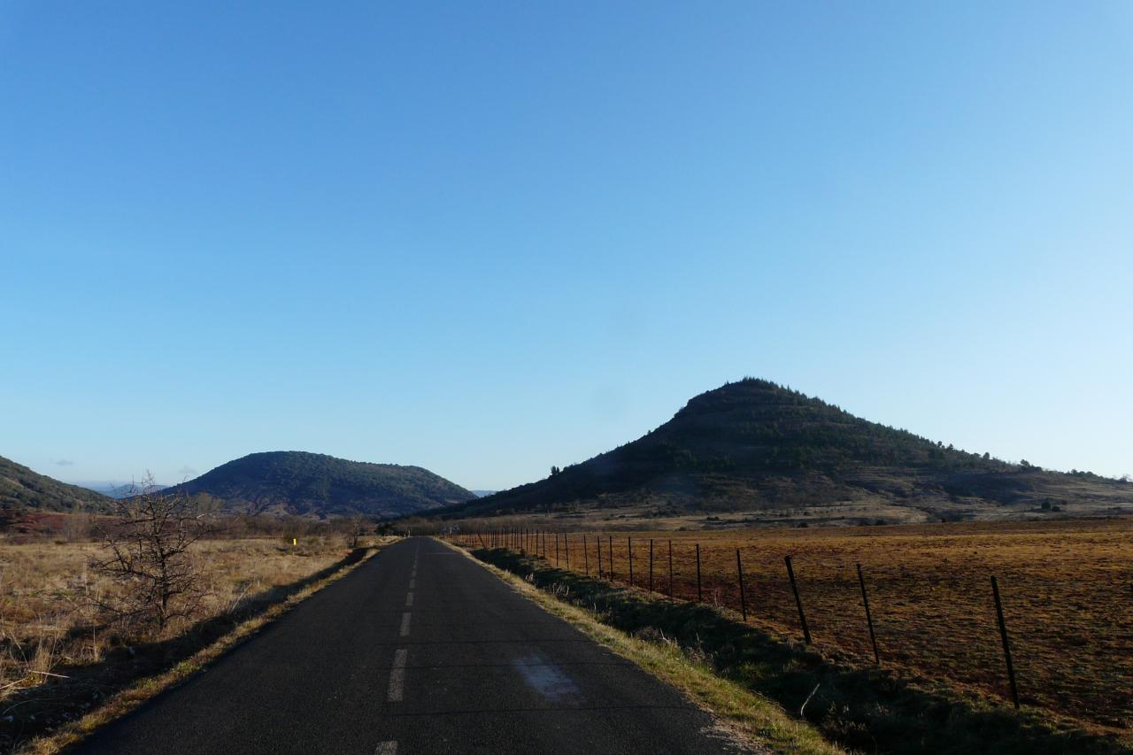 retour vers la base natique - lac du salagou