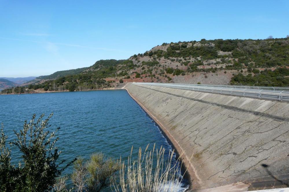 le barrage du Salagou