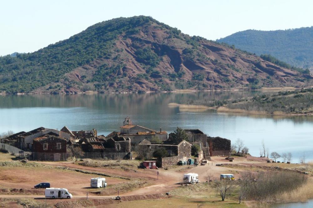 Celles (lac du Salagou)