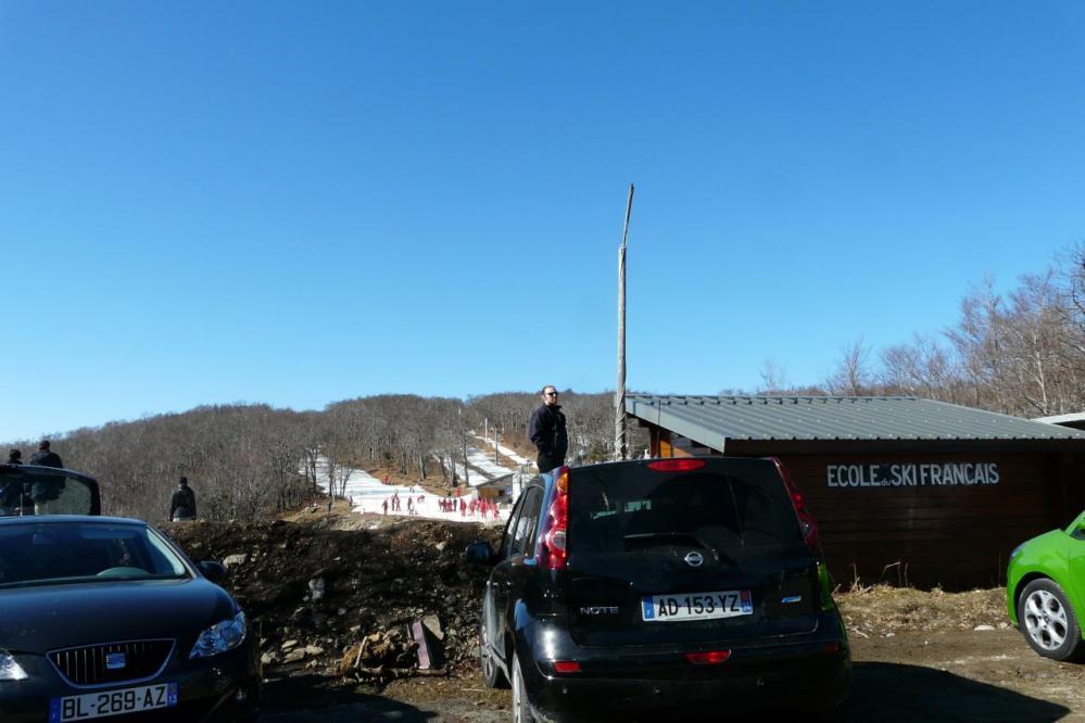 station de Prat Peyrot (mont Aigoual)