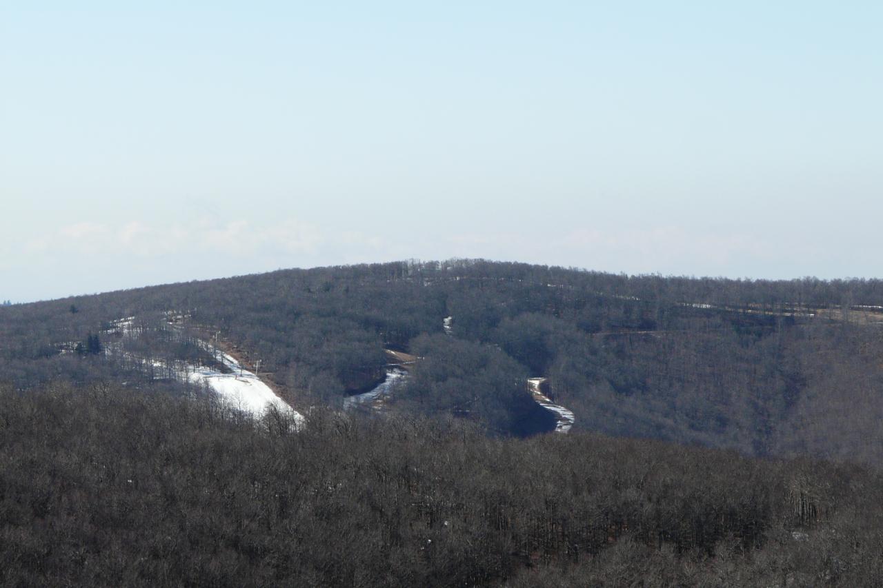 Ski à Prat Peyrot (Mont Aigoual)
