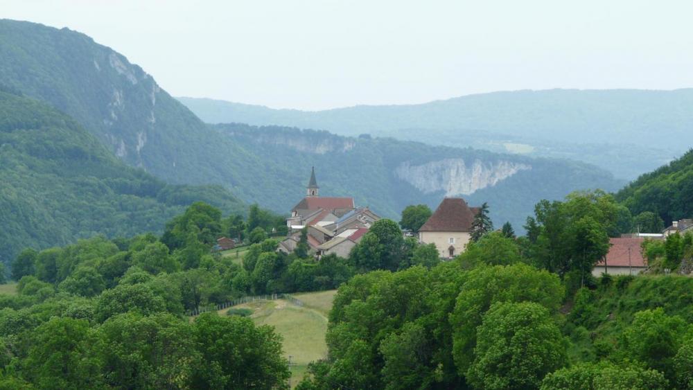 Le village de Lacoux (Ain)