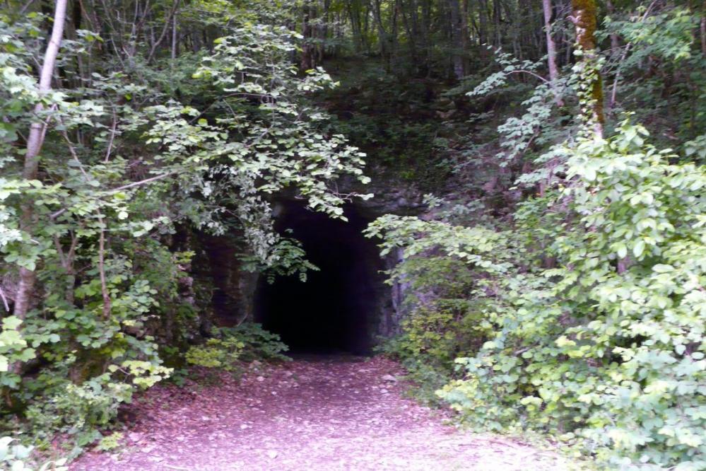 Retour dans le premier tunnel (Nantuy/Chabarotte)