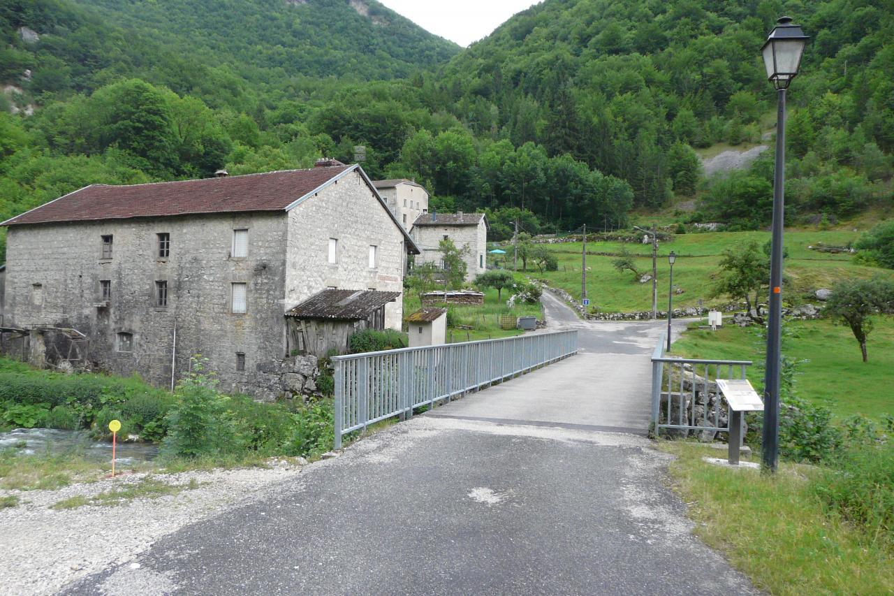 Le moulin de Charabotte (lieu dit)