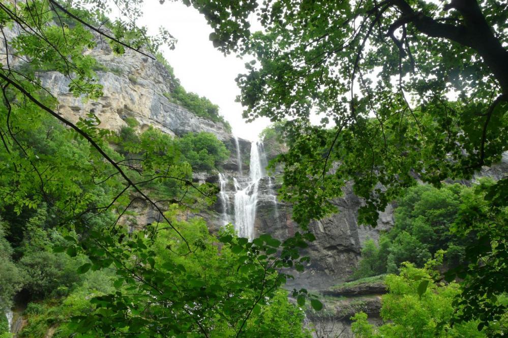 la cascadede Chabarotte