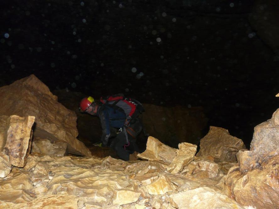 la grotte de la Doria