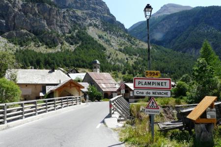 Plampinet en direction du val de Clarée (Hautes Alpes)