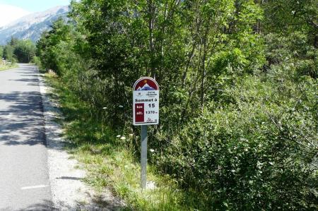 Excellente signaletique tout le long du parcours ! (col de l' Echelle - hautes Alpes)